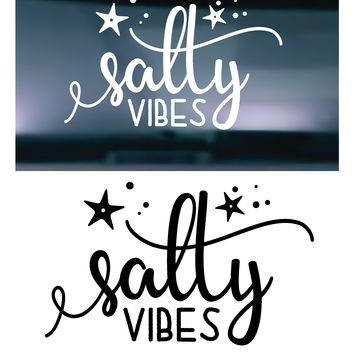 Salty Vibes Vinyl Graphic Decal