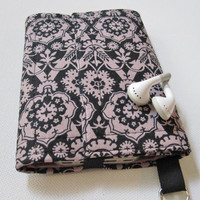 Nerd Herder gadget wallet in Gothic Rose for iPhone, Android, iPod, digital camera, smartphone, guitar picks
