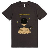 I Watch The Bees-Unisex Smoke T-Shirt