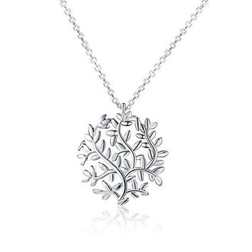 Tree Branches Necklace - Nature Inspired Tree Leaves Necklaces For Women