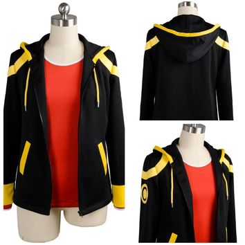 Hot Game Mystic Messenger 707 Top Cosplay Costume Adult Halloween Costumes T shirt Jacket Custom Made