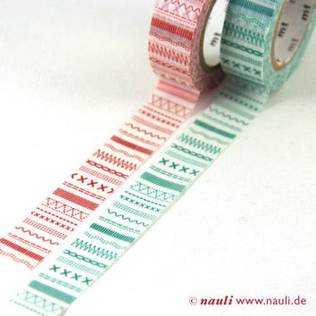 Nauli - Washi Masking Tape stiches