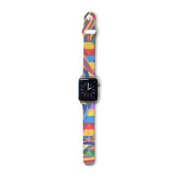 "Danny Ivan ""The Optimist"" Geometric Multicolor Apple Watch Strap"