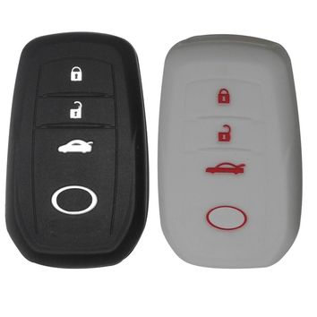 Car styling Car silicone auto key holder key shell for Toyota Corolla camry RAV4 2014 2015 auto accessories free shipping