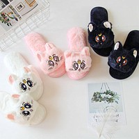 Sailor Moon Fluffy Slippers