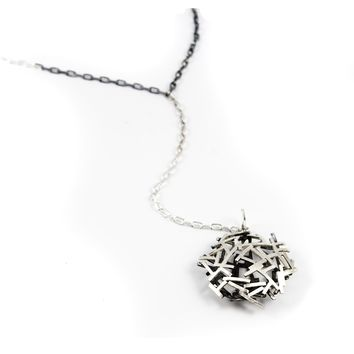ALL NEW Black and White Astro 2 Y Necklace