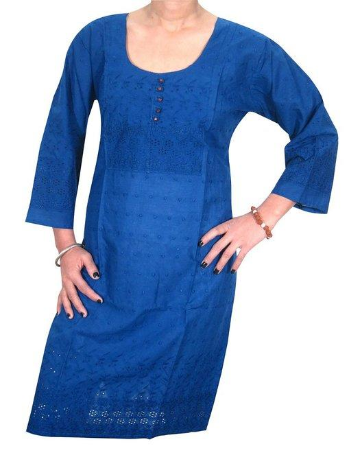 Womans Indian Tunic Tops Cotton Yoga From Amazon Indian