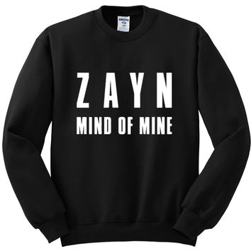 "Zayn Malik ""Zayn Mind of Mine"" Crewneck Sweatshirt"