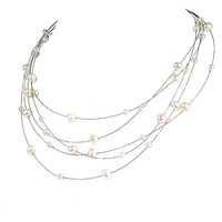 Bridal Jewelry Pearl Necklaces for Women