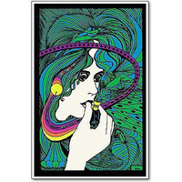 Acid Queen Poster, 1970 Reproduction