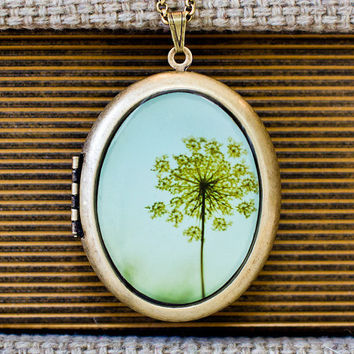 Simplexity  Photo Locket  Dandelion Flower by HeartworksByLori