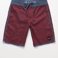 RVCA Traditions Hybrid Shorts - Mens Board Shorts - Red