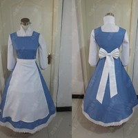 adult princess belle blue dress costume beauty and the beast halloween costumes for women plus size sexy bella southern