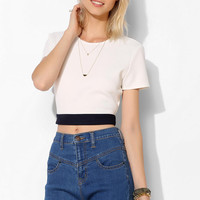 Coincidence & Chance Textured Open-Back Top - Urban Outfitters