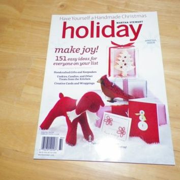 Martha Stewart Holiday Handmade Christmas Special Issue 2008-2009
