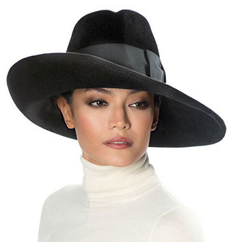 Eric Javits Designer Women's Head-wear Candice Hat (Black)