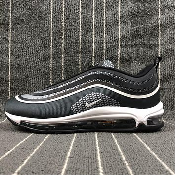 Nike Air Max 97 UL '17 Black Grey Sliver Bullet Sport Running Shoes 918356-001
