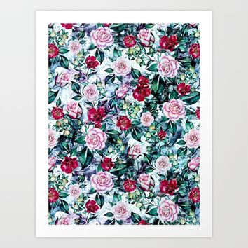 Beautiful Garden IV Art Print by RIZA PEKER