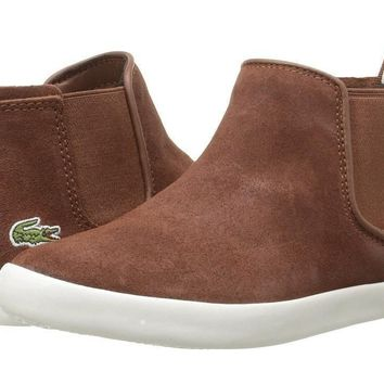 LaCoste Brown Suede Ankle Boots
