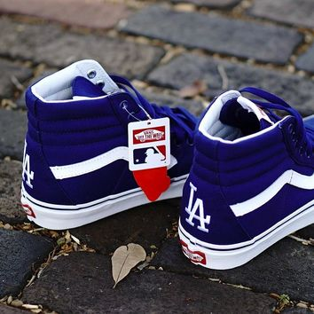 kuyou Vans X MLB Sk8-Hi  Los Angeles Dodgers