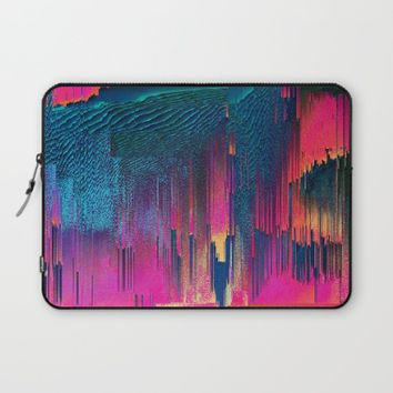 Party Puke Laptop Sleeve by Ducky B