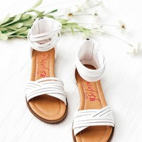Blowfish Kids- Baot Sandal in pearl White