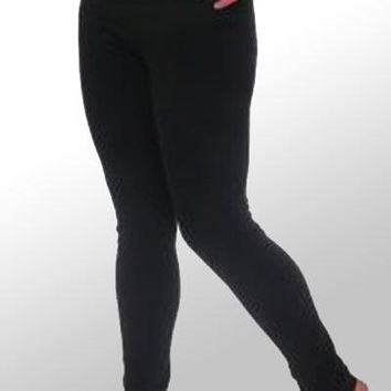 Organic Cotton Leggings - full length