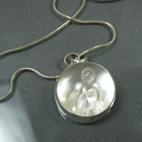 Diamonds Are A Girls Best Friend Necklace by asapdesigns on Etsy