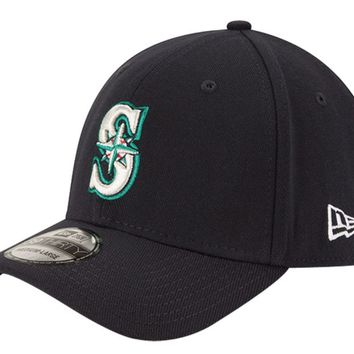 New Era Men's Seattle Mariners 39Thirty Classic Navy Stretch Fit Hat