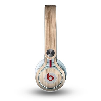 The Light-Grained Wood Skin for the Beats by Dre Mixr Headphones