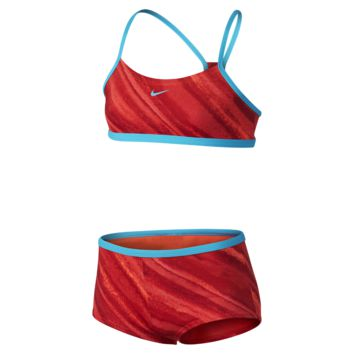 Nike Tonal Static Racerback Sport Girls' Two-Piece Swimsuit