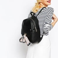 Love Moschino | Love Moschino Backpack with Detachable Scarf at ASOS