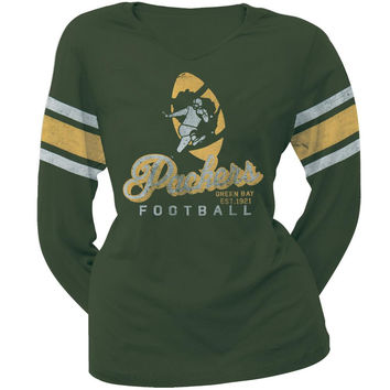 Green Bay Packers - Homerun Premium Juniors Long Sleeve T-Shirt