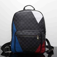 Tagre™ Louis Vuitton Fashion Backpack Bookbag Travel Bag Shoulder Bag