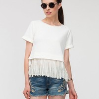 Nico Fringe Top