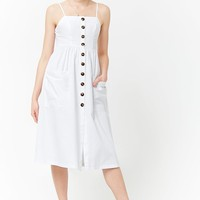 Button-Front Cami Dress