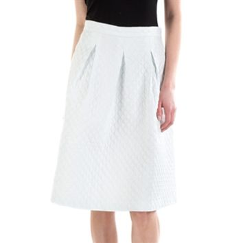 Willow & Clay Women's Contemporary Quilted Skirt at Von Maur