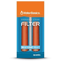 WaterBasics Emergency Straw Filter 2 pack