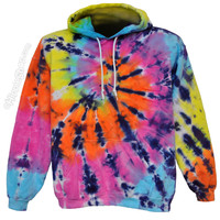 Tie Dye Pastel Shooter Hoodie on Sale for $47.99 at HippieShop.com