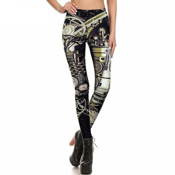 Mechanical Armory Steampunk Leggings