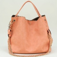 Carley Studded Hobo Bag