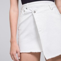 Arctic Raw Hem Mini