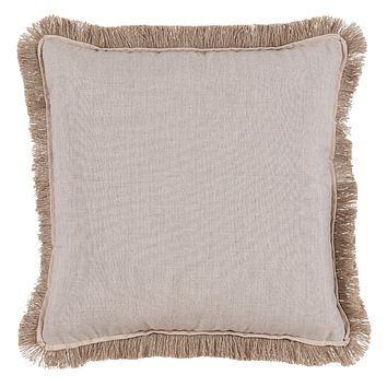Silver Pillow With Sand Flange