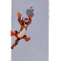 Tigger Transparent Back Cover Case for iPhone 5 & 5S