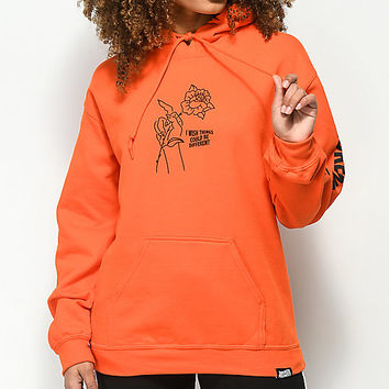 Broken Promises Could Be Different Orange Hoodie | Zumiez