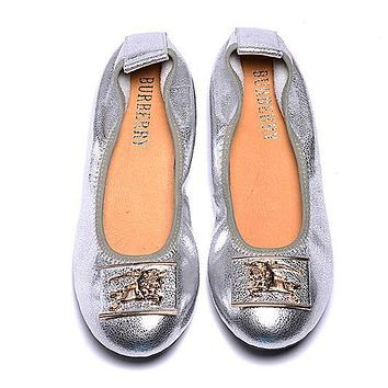 Burberry Women Fashion Dance Shoes Flats Shoes