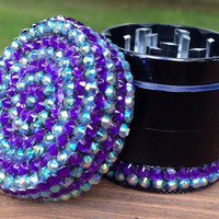 GRINDER -- MINIS Collection -- Purple Stripes