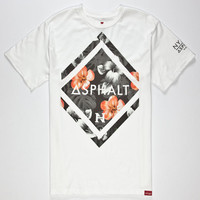 Asphalt Yacht Club Nyjah Huston Paradise Diamond Mens T-Shirt White  In Sizes