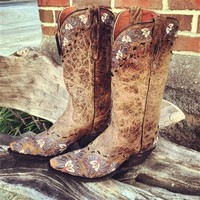 Southern Bell Leather Boot