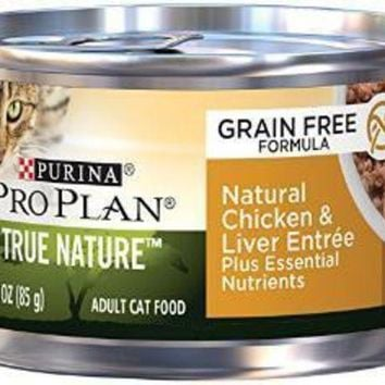LMFYN5 Purina Pro Plan True Nature Adult Natural Chicken & Liver Entre - Classic 24-3Z